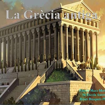 GRÈCIA ANTIGA.-cultura clàssica timeline