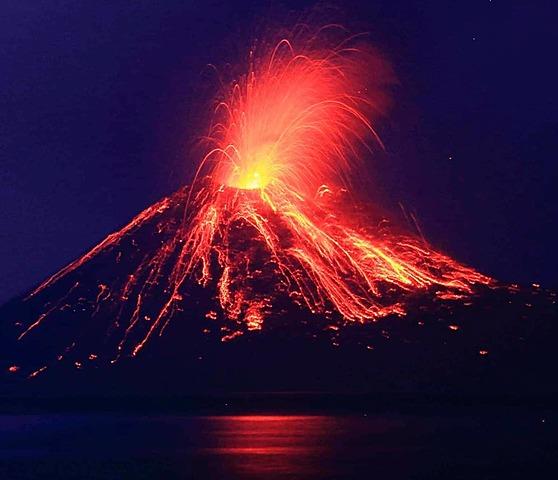 Lyell es contrari a les idees de Buch, i Sosté que les illes s'han formació por acumulació de materials volcànics