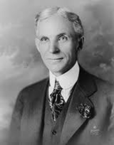 henry ford becomes president of the company