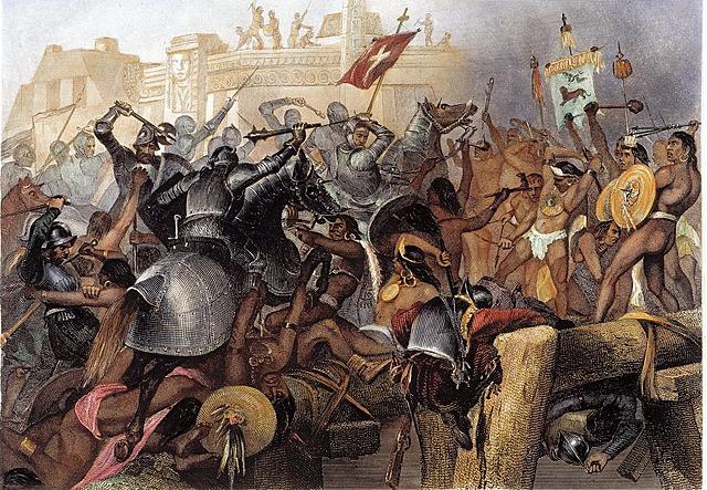 Erobringen av aztekerriket