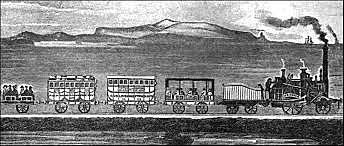 Ferrocarril como transporte
