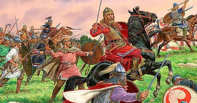Los visigodos derrotaron a los Suevos