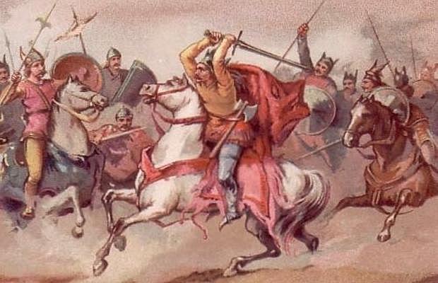 Batalla de Vouillé contra los francos