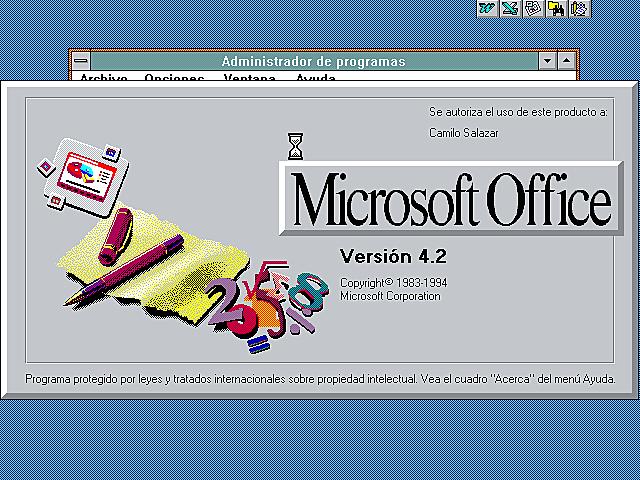 Microsoft Office 4.2 – Español [MEGA]