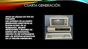 GENERACION 4 ( 1980 HASTA LA ACTUALIDAD)