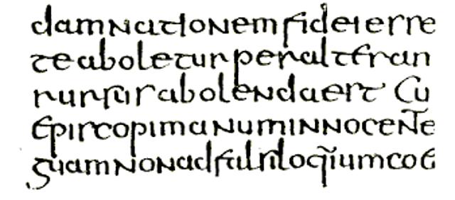 Escritura semiuncial
