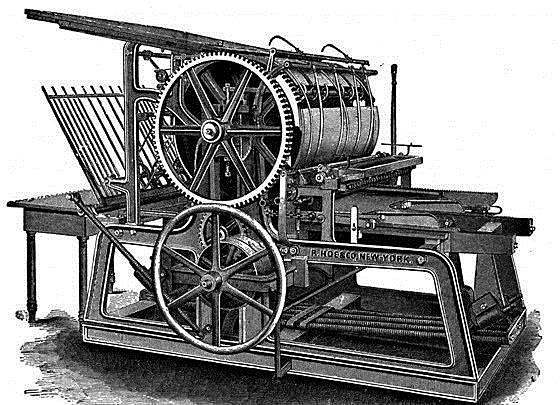 La creación de la imprenta