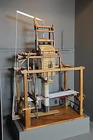 Métier à tisser programmable de Joseph-Marie Jacquard