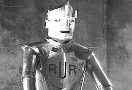 Invention du terme robot de Karel Capek