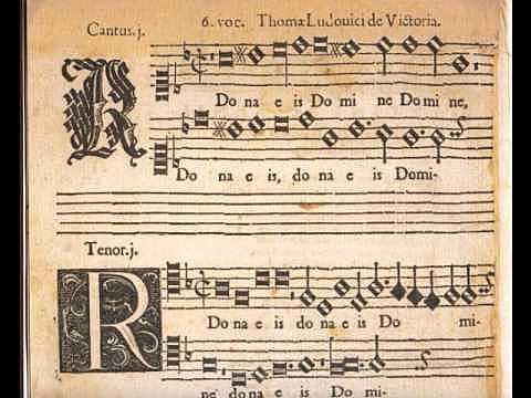 """TOMAS LUIS DE VICTORIA: """"Missa O magnum mysterium"""""""
