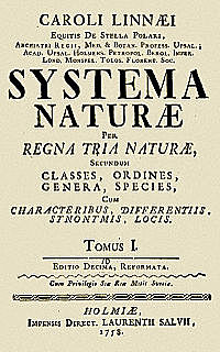 "Carlos Linneo publica ""Systema Naturae"""