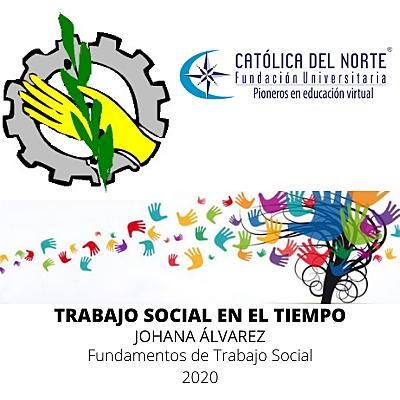 TRABAJO SOCIAL EN EL TIEMPO timeline
