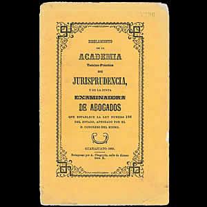Instalación de la Academia Teórico-Práctica de Jurisprudencia