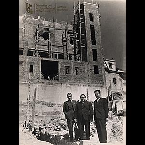 Inicia la construcción de las escalinatas del Edificio Central
