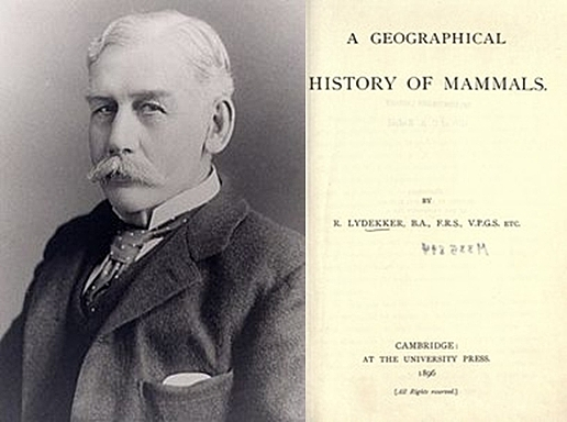 "Se publica ""A Geographycal History Mammals"" de Richard Lydekker"
