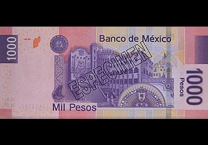 Se emite el billete de mil pesos con la imagen de la UG