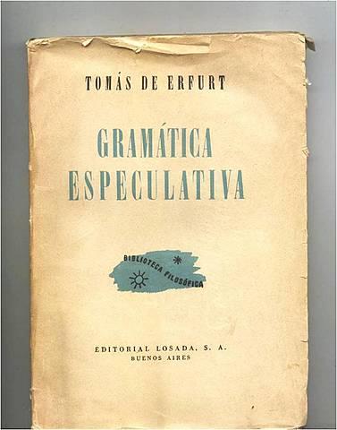 Gramática especulativa