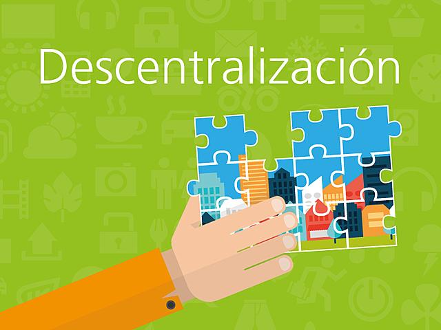Descentralización en la organización