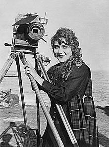 Mary Pickford signs - Famous Players-Lasky