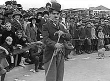 "Charlie Chaplin debuts as ""The Tramp"""