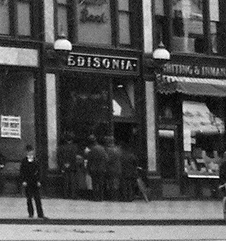 Edisonia Hall - first movie theater