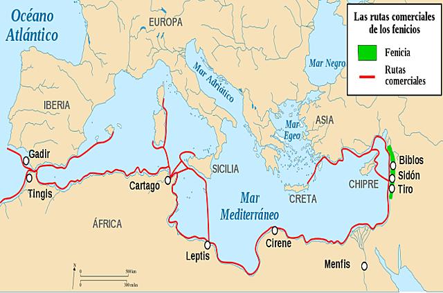 Colonizaciones fenicias