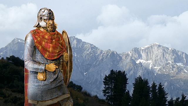 Los visigodos derrotan a los Suevos