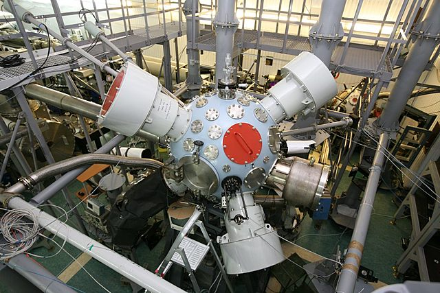 Ввод в эксплуатацию лазерного комплекса в Сарове