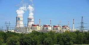 открытие Ростовской атомной станции