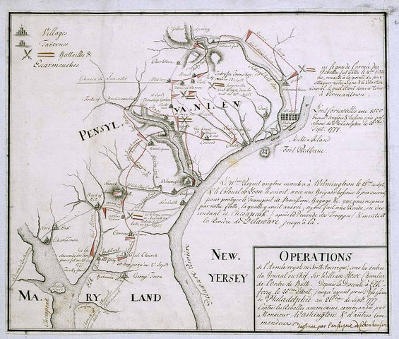 Battle of Brandywine and Germantown