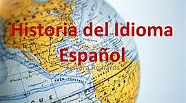 Historia del idioma español timeline