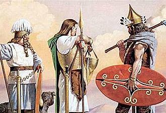 Llegada de los celtas(800 a.c)