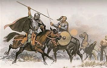 Los visigodos derrotan a los Suevos(456 )