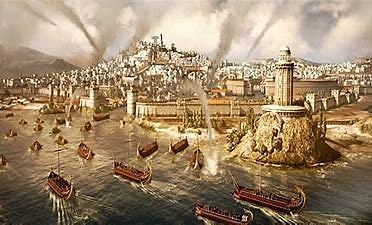 Caída del imperio romano de occidente. 476 d.C