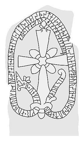 Danmark på en runesten