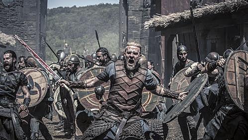 Vikingerne krigstogt til England og Frankrig