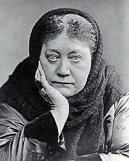 """Helena Petrovna Blavatsky schrijft """"De Geheime Leer"""""""