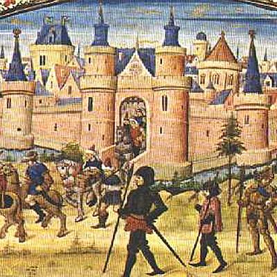 Medioevo con relative periodizzazioni timeline