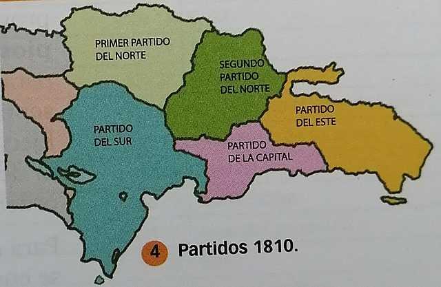 Partidos de 1810