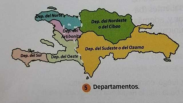 Departamentos.