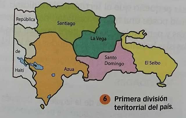 Primera división territorial de país.
