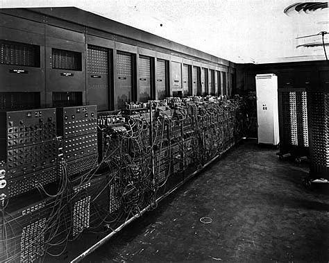 ENIAC la primera super computadora
