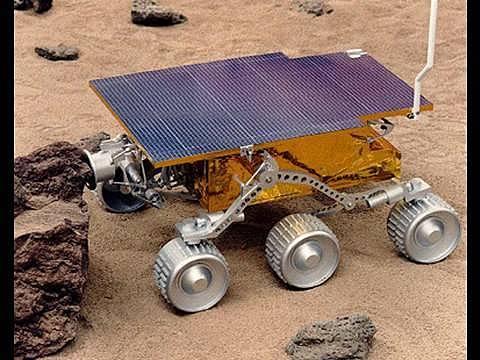 PathFinder aterriza en Marte