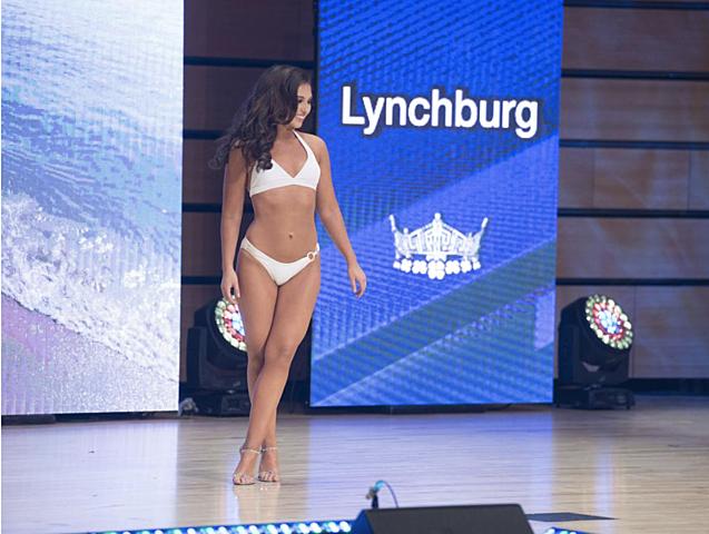 Miss Virginia Swimsuit Contest in Campus Worship Center