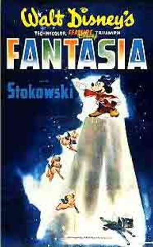 Produção de Fantasia - Walt Disney