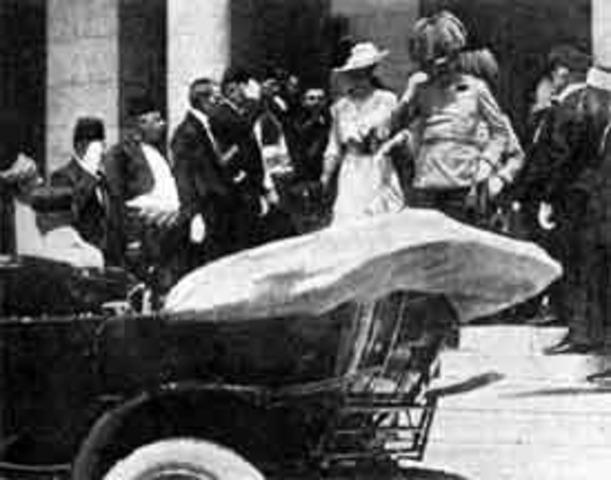 Assasination of the Archduke of Austria-Hungary