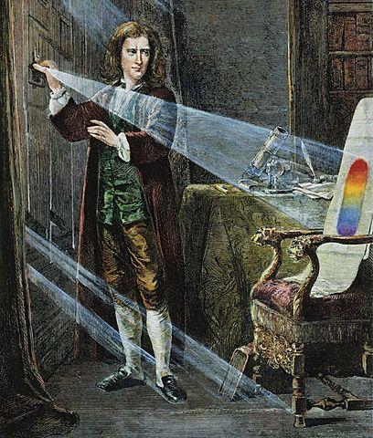 Newton: Colores espectrales