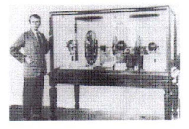 Primeira demonstração pública da TV