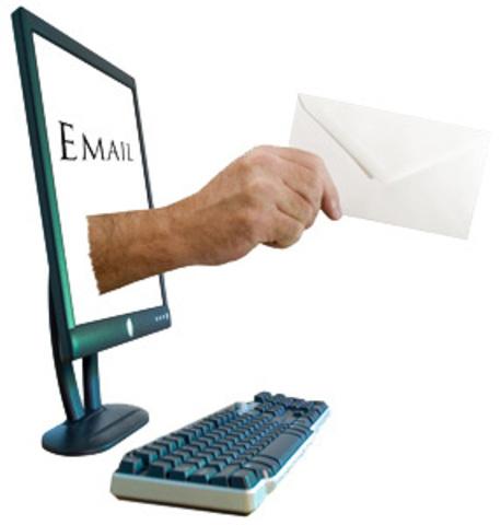 Envio do primeiro e-mail