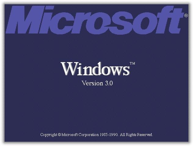 Lançado o Windows 3.0